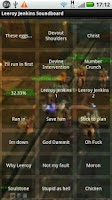 Screenshot of Leeroy Jenkins Soundboard