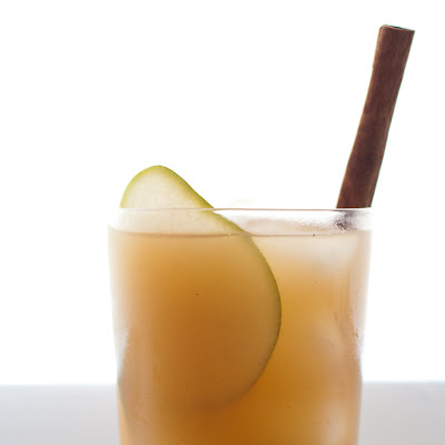 Pear Nectar and Reposado Tequila Cocktail