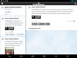 Screenshot of Ibiza Sonica Radio - app fan