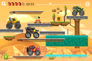 Screenshot of Hill Truck:Hill Racing Game