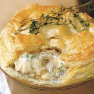 White Wine Chicken Mushroom Pie Recipes