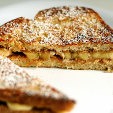 Baked Applesauce French Toast Sandwiches