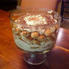 Tiramisu Trifle With Zabaglione Filling