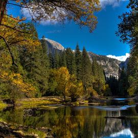 Ah.....Yosemite by Madhujith Venkatakrishna - City,  Street & Park  Vistas