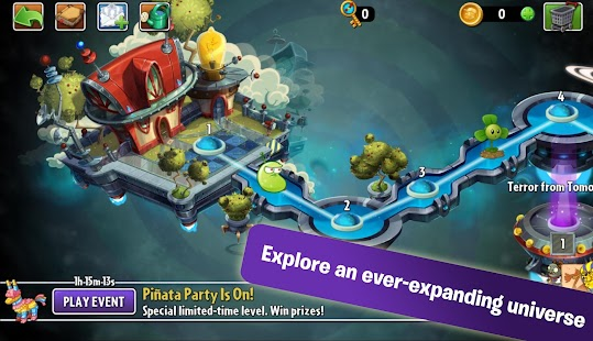 Plants vs. Zombies 2 5.7.1 (Mod ROW/NA) Apk + Data