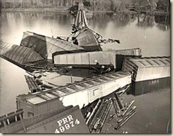 Trestle collapse