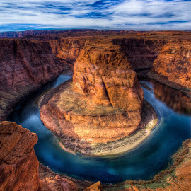 Horseshoe Bend by Jared Weaver - Landscapes Deserts