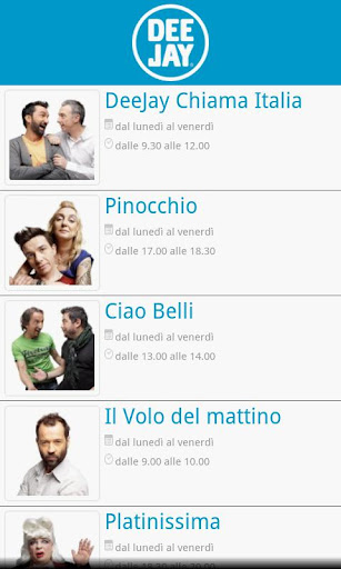 Radio Deejay Podcast BETA