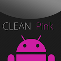 GO SMS Clean Pink Theme icon