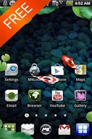 Screenshot of [Live] Koi  Free MXHome Theme