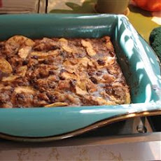 Gramma's Apple Bread Pudding