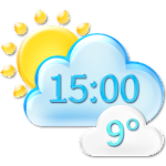 Climate Weather Clock Widget APK Image