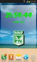 Screenshot of Atletico Nacional Clock