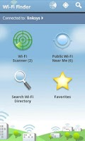 Screenshot of WiFi Finder