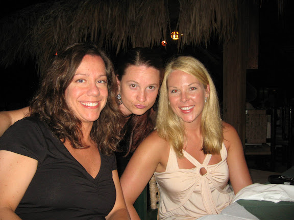 Melissa, Christina and Tracey