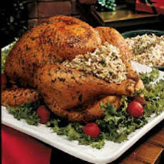 Turkey with Herbed Rice Dressing
