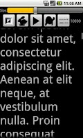 Screenshot of A Prompter for Android