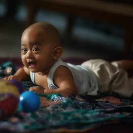 sean #s3 by Tt Sherman - Babies & Children Babies ( playing, baby, boy,  )