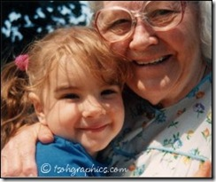 Grandma and my daughter, Molly
