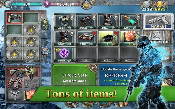 Gunspell - RPG And Puzzle! APK screenshot thumbnail 13