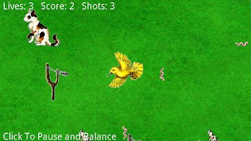 Screenshot of Cat Bird and Worms