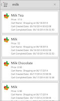 Screenshot of Shopping Cart Babara