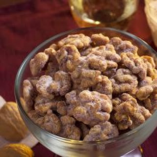 Brandied Candied Walnuts