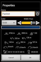 Screenshot of TopoNavigator Android
