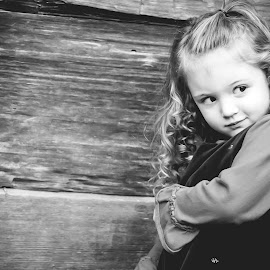 secret by Jenny Hammer - Babies & Children Children Candids ( girl, curls, cute, pretty, outside )