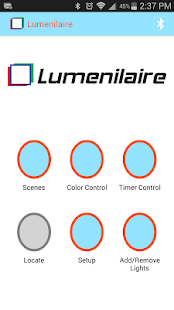 Lumenilaire RGB LED Lighting - screenshot