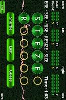 Screenshot of Word Frenzy Free ™