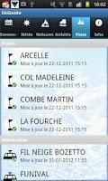 Screenshot of Val d'isère Ski Guide