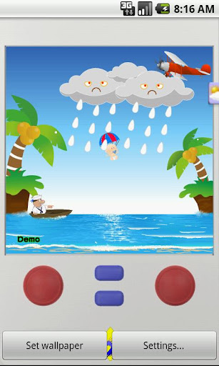 【免費工具App】Parachute Live Wallpaper-APP點子