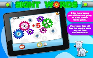 Screenshot of Sight Words Games & Flash card