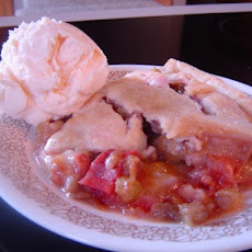 Farmhouse Fresh:  Orange - Rhubarb Pie