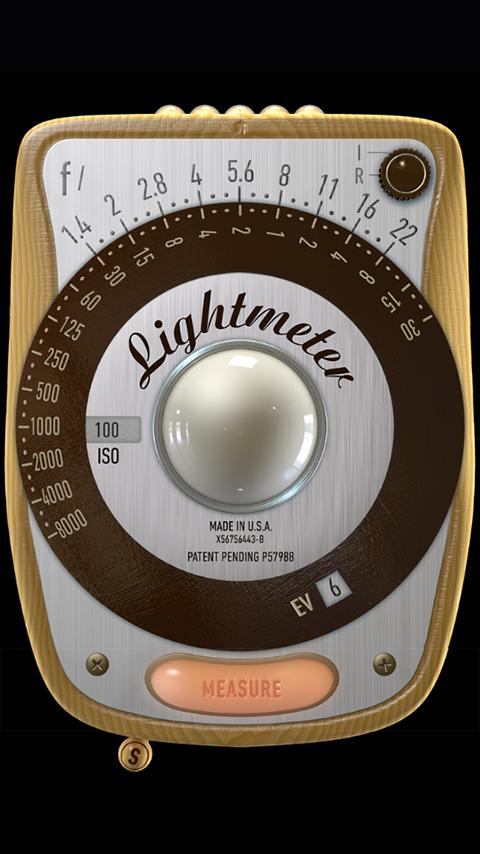 LightMeter (noAds) Screenshot