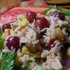 Fruity Chicken & Rice Salad