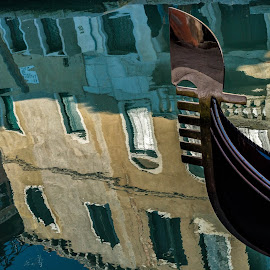 Venice, Italy by David Robertson - Abstract Patterns