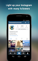 Screenshot of BoostFollowers for Instagram