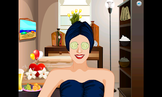 Screenshot of Superstar Spa Makeover