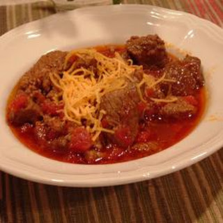 Jen's Hearty Three Meat Chili