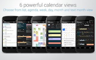 Screenshot of DigiCal Calendar