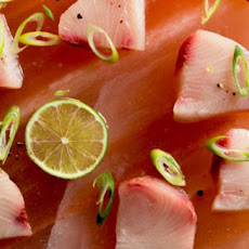 Fresh Fish! Salt and Pepper Semi-Cured Hamachi Sashimi Recipe