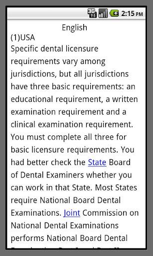 dentist study abroad