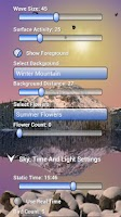 Screenshot of Mountain Lake Live Wallpaper