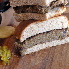 Roasted Garlic Bulgur Burger