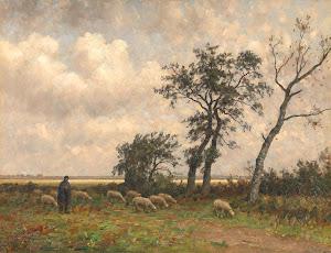 RIJKS: Alphonse Stengelin: painting 1910