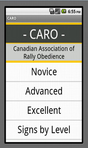 CanadianRally Obedience CARO