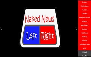 Screenshot of Naked News