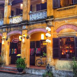 Hoi An, Vietnam by Akiro Mahilom - City,  Street & Park  Historic Districts